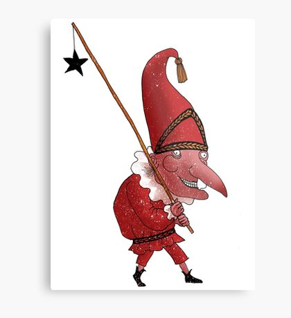 Mr. Punch and the Dark Star Metal Print