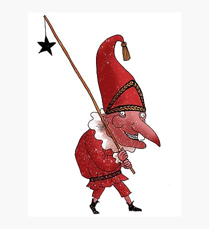 Mr. Punch and the Dark Star Photographic Print