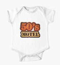 Vintage 50's Motel - T-Shirt One Piece - Short Sleeve