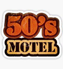 Vintage 50's Motel - T-Shirt Sticker