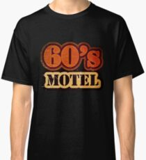Vintage 60's Motel - T-Shirt Classic T-Shirt
