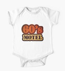 Vintage 60's Motel - T-Shirt One Piece - Short Sleeve