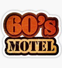 Vintage 60's Motel - T-Shirt Sticker