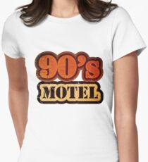 Vintage 90's Motel - T-Shirt Womens Fitted T-Shirt