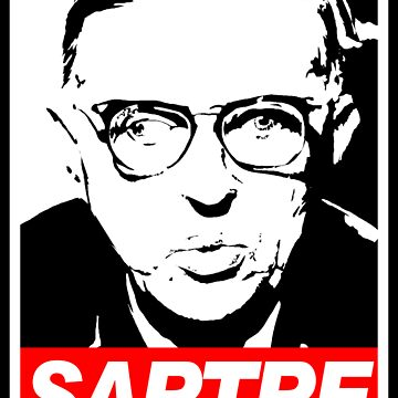 Jean-Paul Sartre by fo3the13th