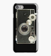Vintage rangefinder camera iPhone Case/Skin