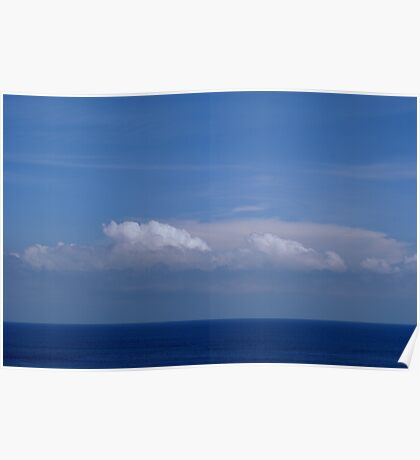 Blue Horizon Poster