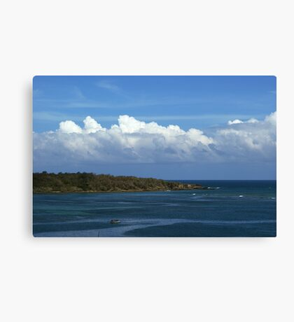 Rolling On Canvas Print