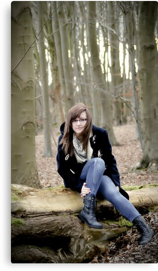 Sat on the Tree Trunk Pondering! by Debbie McGowan CAMMAYC Photography