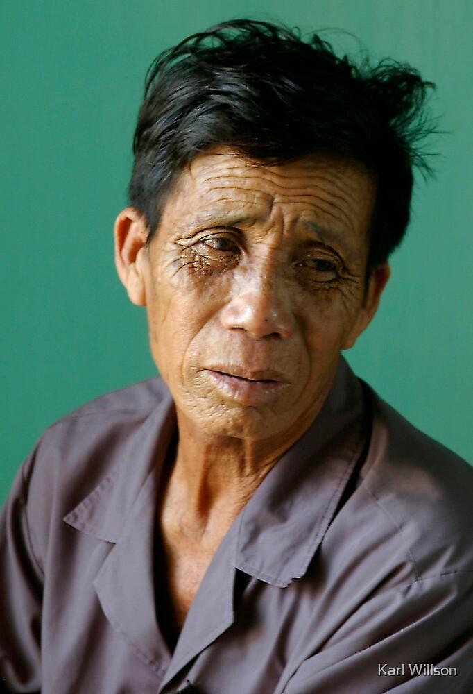 Vietnamese Fisherman by Karl Willson