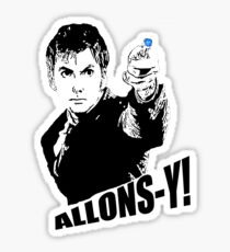 allons-y! Sticker