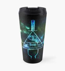 Glowing Bill Cipher Travel Mug