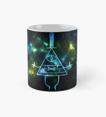 Glowing Bill Cipher Mug