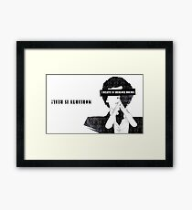 Sherlock: I believe in SH Framed Print