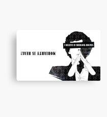 Sherlock: I believe in SH Canvas Print