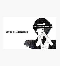 Sherlock: I believe in SH Photographic Print