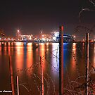 Behind The Lines, Belfast Dock by peter donnan