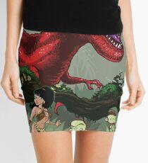 T-Rex Goes Hunting Mini Skirt