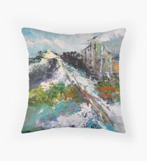 Top Point of View Throw Pillow