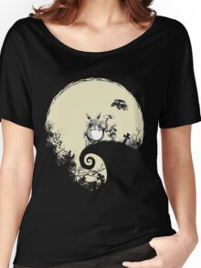 Neighbour Before Christmas - Totoro Women's Relaxed Fit T-Shirt
