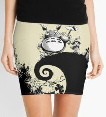 Neighbour Before Christmas - Totoro Mini Skirt