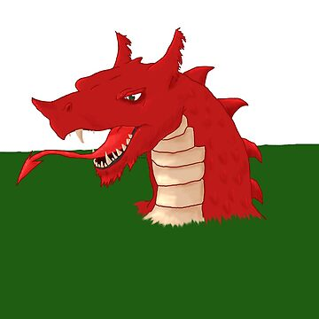 Welsh Dragon by bluemagic