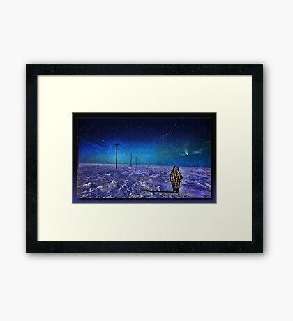 The Tundra Framed Print
