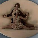Vintage Ballet pose. by Ian A. Hawkins