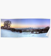 Greenwich Park Panorama Poster