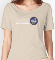 Moby Dick - 320th SQ - 90th BG - 5th AF    Emblem (White) Women's Relaxed Fit T-Shirt