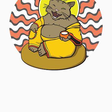 Buddha Cat by shpshift