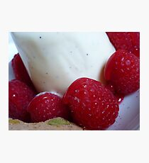 Panna cotta Photographic Print