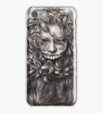 girl, invisible monsters Palahniuk, horror, face, dark, eyes iPhone Case/Skin