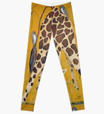 Birds on Baby Giraffe Leggings