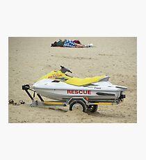 Sea Rescue Photographic Print