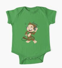monkey dancing One Piece - Short Sleeve