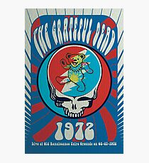 The Grateful Dead psychedelic poster Photographic Print