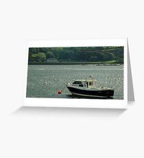 An Irish Bay Greeting Card