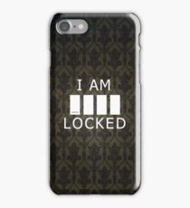 Sherlocked (empty variant) iPhone Case/Skin