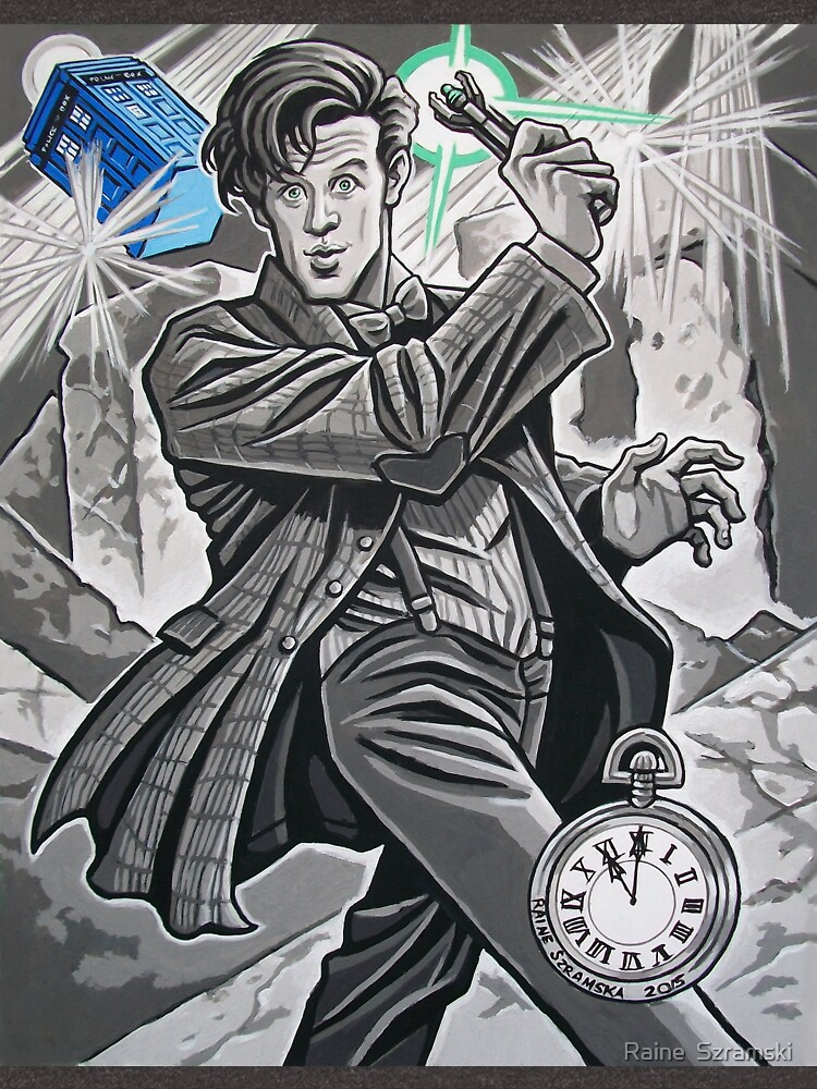 The Eleventh Doctor by rainesz