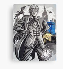 The Third Doctor Canvas Print