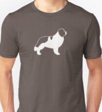 Newfoundland Landseer Silhouette(s) Unisex T-Shirt