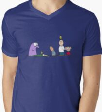 You have a bird on your head Men's V-Neck T-Shirt