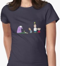 You have a bird on your head Womens Fitted T-Shirt