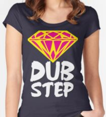 Dubstep Diamond Women's Fitted Scoop T-Shirt