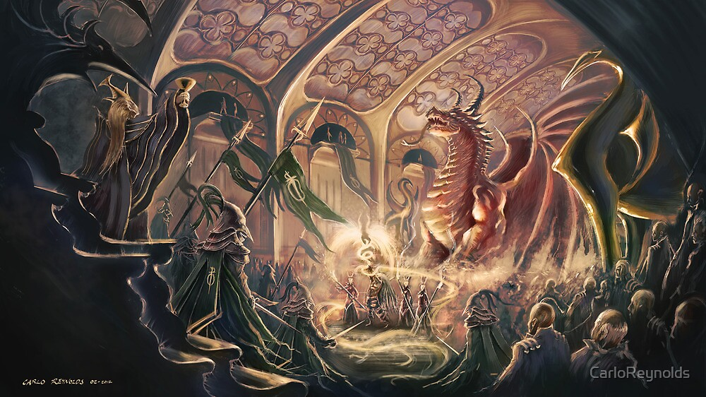 Ceremony of the Dragon by CarloReynolds