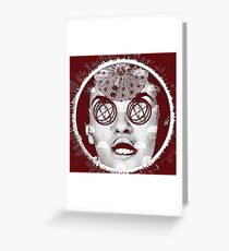 Side Effects Greeting Card