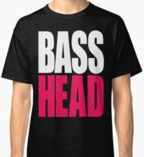 Bass Head (white/magenta)  Classic T-Shirt