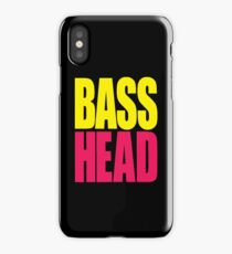 Bass Head (yellow/magenta)  iPhone Case