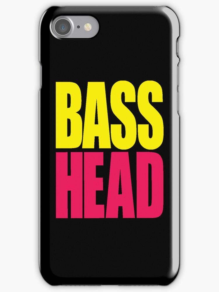Bass Head (yellow/magenta)  by DropBass
